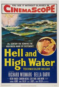 Hell and High Water (1954) Poster