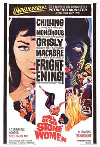 Mill of the Stone Women (1960) Poster