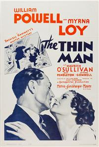 The Thin Man (1934) Poster
