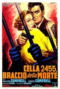 Cell 2455 Death Row (1955) Poster