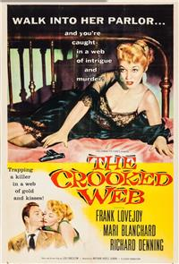 The Crooked Web (1955) 1080p Poster