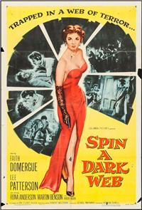 Spin a Dark Web (1956) Poster