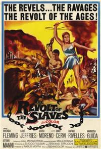 Revolt of the Slaves (1960) Poster