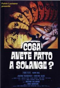 What Have You Done to Solange? (1972) Poster