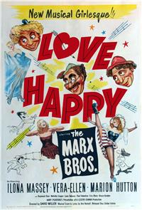 Love Happy (1949) Poster
