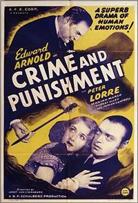 Crime and Punishment (1935) Poster