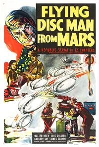 Flying Disc Man from Mars (1950) 1080p Poster