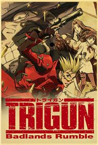 Trigun: Badlands Rumble (2010) 1080p Poster