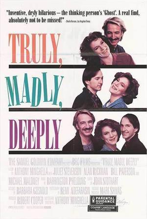 Truly Madly Deeply (1990) Poster