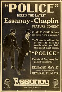 Police (1916) Poster