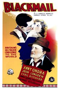Blackmail (1929) Poster