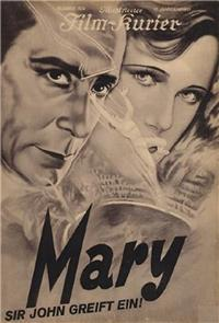 Mary (1931) Poster