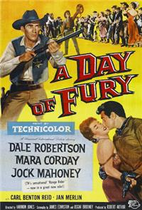 A Day of Fury (1956) Poster