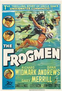 The Frogmen (1951) 1080p Poster