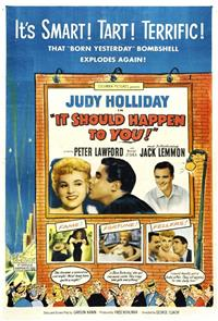 It Should Happen to You (1954) 1080p Poster