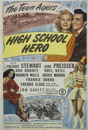 High School Hero (1946) 1080p Poster