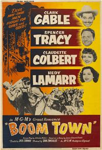 Boom Town (1940) 1080p Poster