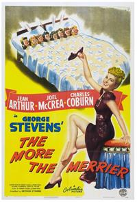 The More the Merrier (1943) 1080p Poster