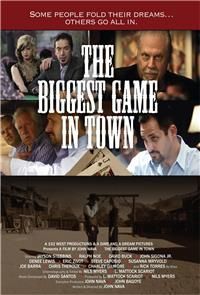 The Biggest Game In Town (2016) 1080p Poster