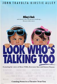 Look Who's Talking Too (1990) 1080p Poster