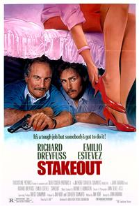Stakeout (1987) 1080p Poster