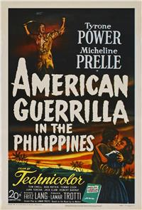 American Guerrilla in the Philippines (1950) 1080p Poster
