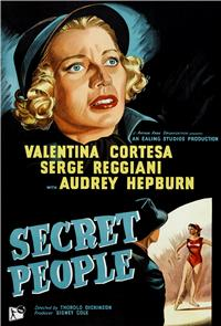 Secret People (1952) 1080p Poster
