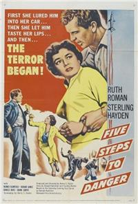5 Steps to Danger (1957) Poster