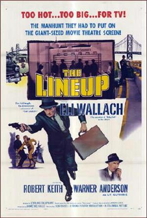 The Lineup (1958) Poster