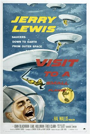 Visit to a Small Planet (1960) Poster