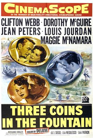 Three Coins in the Fountain (1954) 1080p Poster