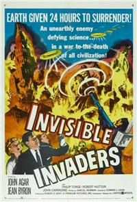 Invisible Invaders (1959) Poster