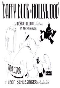 Daffy Duck in Hollywood (1938) Poster