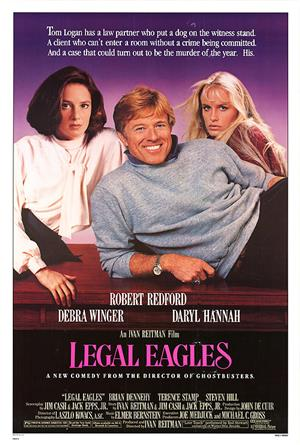 Legal Eagles (1986) 1080p Poster