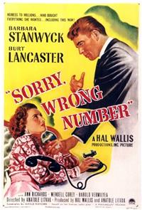 Sorry, Wrong Number (1948) 1080p Poster