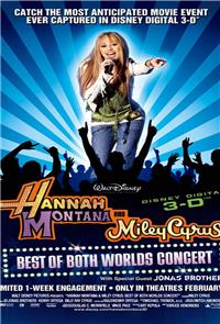 Hannah Montana & Miley Cyrus: Best of Both Worlds Concert (2008) Poster