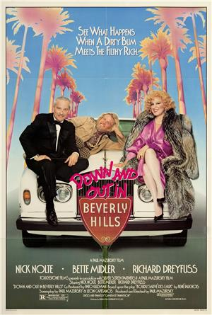 Down and Out in Beverly Hills (1986) 1080p Poster