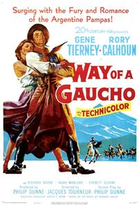 Way of a Gaucho (1952) Poster