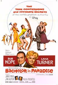 Bachelor in Paradise (1961) 1080p Poster