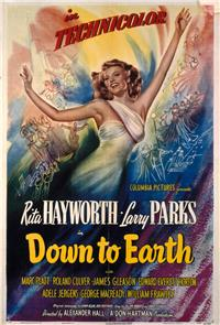 Down to Earth (1947) 1080p poster