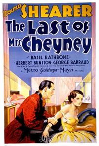 The Last of Mrs. Cheyney (1929) 1080p Poster