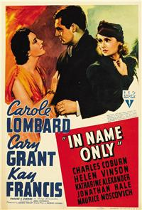 In Name Only (1939) 1080p Poster