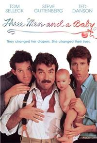3 Men and a Baby (1987) 1080p Poster