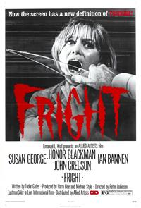 Fright (1971) Poster