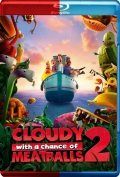 Cloudy with a Chance of Meatballs 2 (2013) 3D Poster