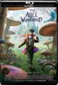 Alice in Wonderland (2010) 1080p Poster