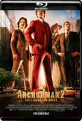 Anchorman 2 The Legend Continues (2013) 1080p Poster
