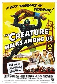 The Creature Walks Among Us (1956) 1080p Poster