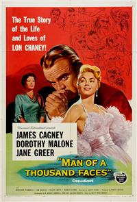 Man of a Thousand Faces (1957) Poster