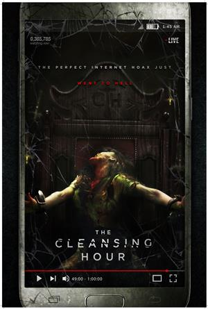 The Cleansing Hour (2019) 1080p Poster